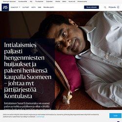 Intialaismies paljasti hengenmiesten huijaukset ja pakeni henkensä kaupalla Suomeen – johtaa nyt jättijärjestöä Kontulasta