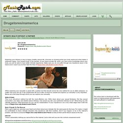 intimate health without a partner - drugstoresinamerica