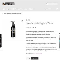 Men Intimate Hygiene Wash - Sanctus