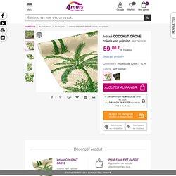Intissé COCONUT GROVE coloris vert palmier - Papier Peint - 4murs