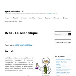 INTJ - Le scientifique