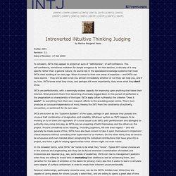 INTJ Profile