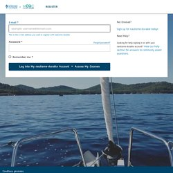 Log into your nautisme-durable Account