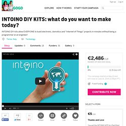 INTOINO DIY KITS: what do you want to make today?