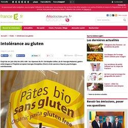 Intolérance au gluten