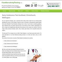 Dairy Intolerance Test Auckland in Auckland, Wellington, Christchurch, Hamilton, Tauranga, Dunedin, NZ