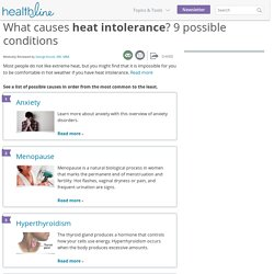 Heat Intolerance: Causes, Symptoms & Complications