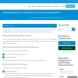 Food Intolerance: Everything You Should Know About It