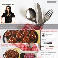 Cupcake au chocolat avec ganache – Intolérante & Pétillante