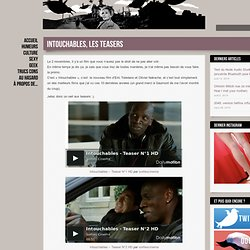 Intouchables, les teasers
