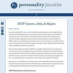 INTP Careers, Jobs, & Majors