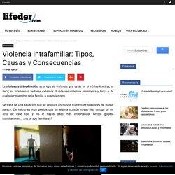 Violencia Intrafamiliar: Tipos, Causas y Consecuencias - Lifeder