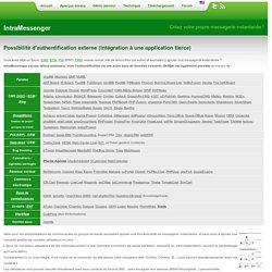 IntraMessenger : messagerie instantanée en entreprise (intranet ou internet) logiciel gratuit : freeware