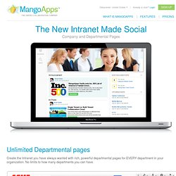 Social Intranet, Social Collaboration Software - On Premise or Cloud
