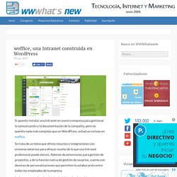 woffice, una Intranet construida en WordPress