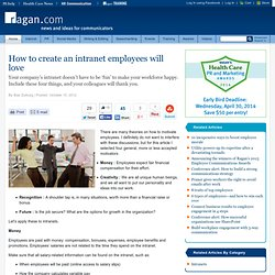 How to create an intranet employees will love
