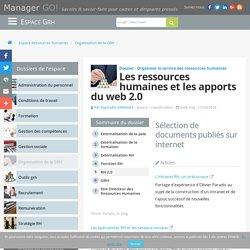 RH 2.0 - de l'intranet aux réseaux sociaux : de nouvelles pratiques