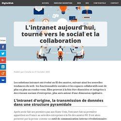 L'intranet aujourd'hui, tourné vers le social et la collaboration