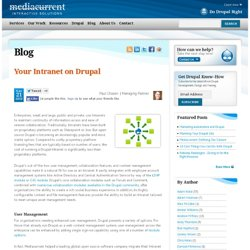 Intranets built on Drupal
