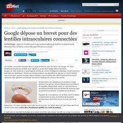 Google dépose un brevet pour des lentilles intraoculaires connectées - ZDNet