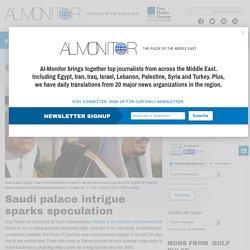 Saudi palace intrigue sparks speculation