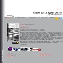 Regard sur le design urbain - intrigues de piétons ordinaires