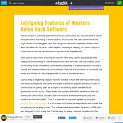 Intriguing Features of Western Union Hack Software