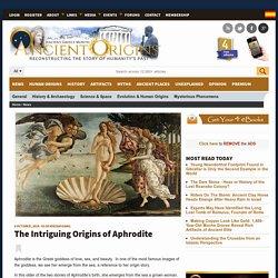 The Intriguing Origins of Aphrodite