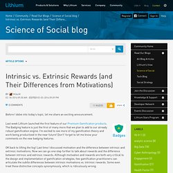 Intrinsic vs. Extrinsic Rewards (and Their Differe...