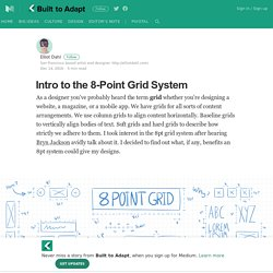 Intro to the 8-Point Grid System – Built to Adapt – Medium