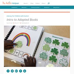 Intro to Adapted Books - The Autism Helper