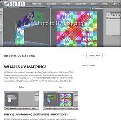 Intro to UV Mapping - Strata