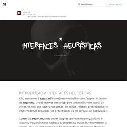 INTRODUÇÃO À INTERFACES HEURÍSTICAS