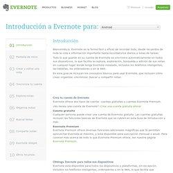 Introducción a Evernote para Android