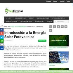 Introducción a la Energía Solar Fotovoltaica