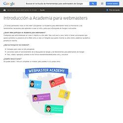 Introducción a Academia para webmasters - Ayuda de Herramientas para webmasters de Google