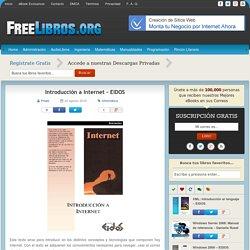 Introducción a Internet – EIDOS