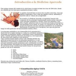 Introducción a la Medicina Ayurveda