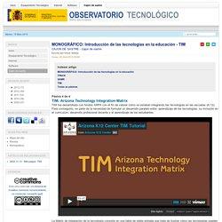 Introducción de las tecnologías en la educación - TIM