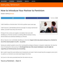 How to Introduce Your Partner to Feminism