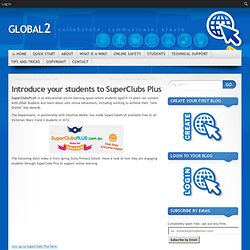 Introduce your students to SuperClubs Plus