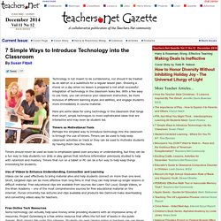 7 Simple Ways to Introduce Technology into the Classroom