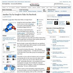 Google Introduces Facebook Competitor, Emphasizing Privacy