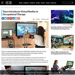 Toyra Introduces Virtual Reality to Occupational Therapy