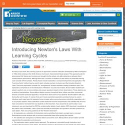 Introducing Newton's Laws with Learning Cycles / Labs, Activities, and Other CoolStuff