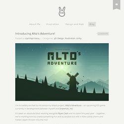 Introducing Alto's Adventure! - Harry Nesbitt