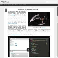 Introducing the AngularJS Batarang