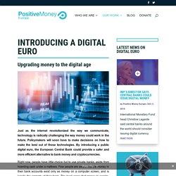 Introducing a digital euro - Positive Money Europe