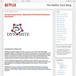 Introducing Dynomite - Making Non-Distributed Databases, Distributed