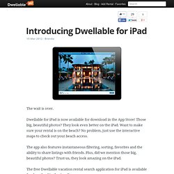 Introducing Dwellable for iPad - DwellableTrends